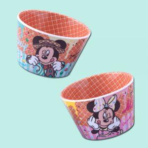 Cup Set Tokyo Disney Merchandise Pink