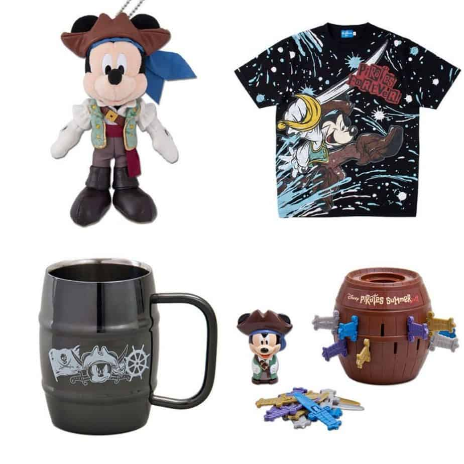Disney Pirates Summer Merchandise 2019 at Tokyo DisneySea