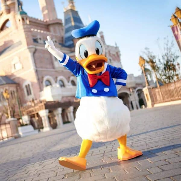 Shanghai Disneyland Celebrates Donald Duck S 85th Birthday