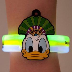 Donald Glow Bracelet Tokyo Disney Summer Merchandise