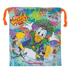 Drawstring Bag Donald's Hot Jungle Summer