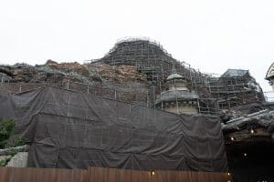Mount Prometheus Construction June 2019 Tokyo DisneySea