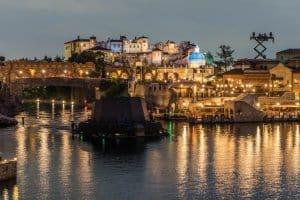 Soaring Building Mediterranean Harbor
