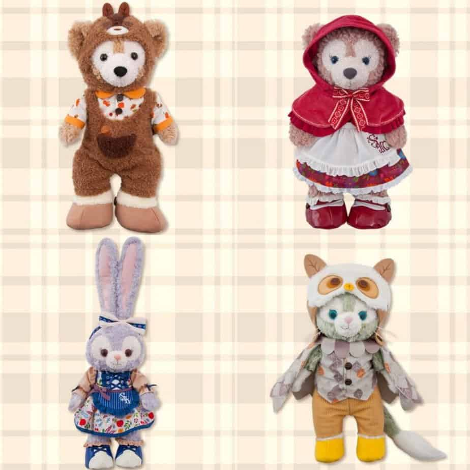 Duffy and Friends Delightful Autumn Woods Merchandise at Tokyo DisneySea