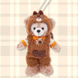 Duffy Plush Badge Delightful Autumn Woods Merchandise