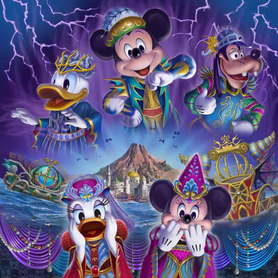 Festival of Mystique Tokyo DisneySea Halloween 2019