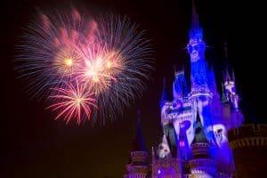 Fireworks Tokyo Disneyland Halloween 2019