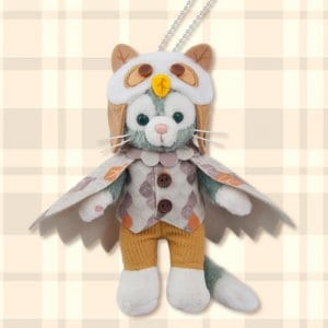 Gelatoni Plush Badge Delightful Autumn Woods Merchandise