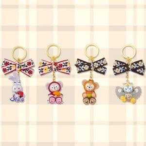 Keychain Set Duffy Merchandise Tokyo Disney Resort 2019