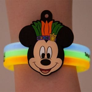 Mickey Glow Bracelet Donald's Hot Jungle Summer