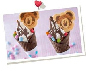 Mickey Ice Creams Tokyo