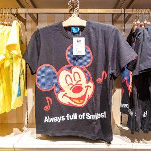Mickey Mouse Black Shirt Tokyo Disney Resort