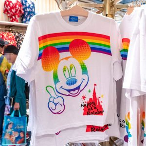 Mickey Mouse Rainbow Shirt Tokyo Disney Resort