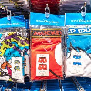 Mickey Mouse Red Underwear Tokyo Disney Resort