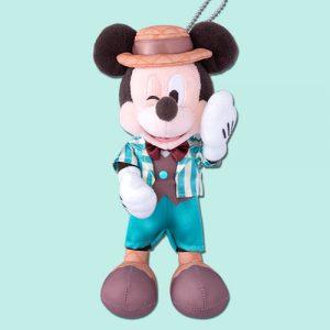 Mickey Plush Badge Pink Pop Paradise