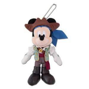 Mickey Plush Badge Tokyo Disney Resort Summer Merchandise