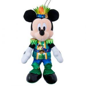 Mickey Plush Badge Tokyo Disney Summer Merchandise