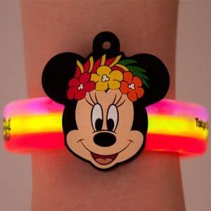 Minnie Glow Bracelet Summer Tokyo Disneyland