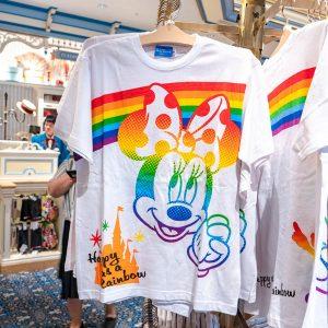 Minnie Mouse Rainbow Shirt Tokyo Disney Resort