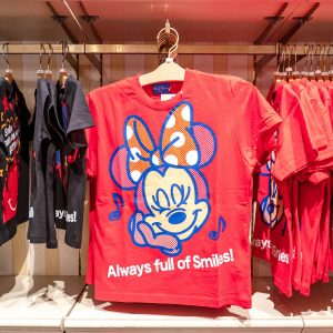 Minnie Mouse Red Shirt Tokyo Disney Resort