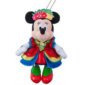 Minnie Plush Badge Summer Tokyo Disneyland