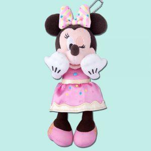 Minnie Plush Badge Tokyo Disney Merchandise Pink