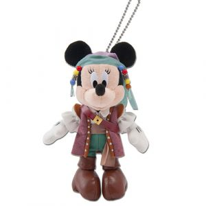 Minnie Plush Badge Tokyo DisneySea Pirates Summer Merchandise 2019