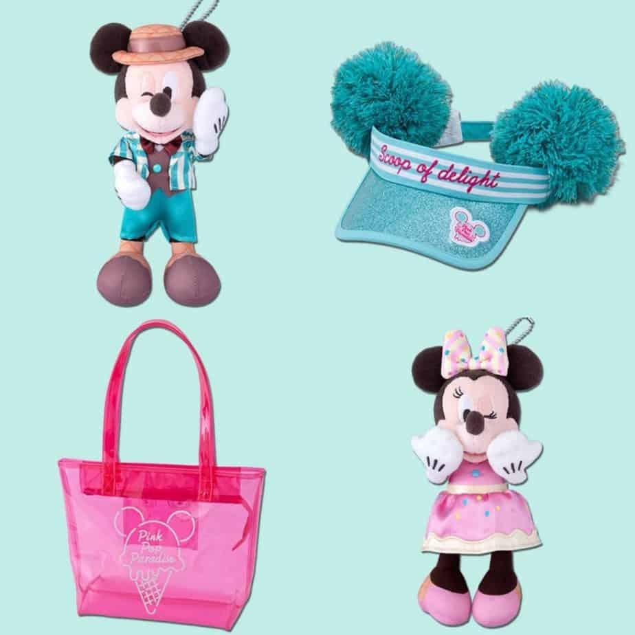 Pink Pop Paradise Merchandise at Tokyo Disney Resort