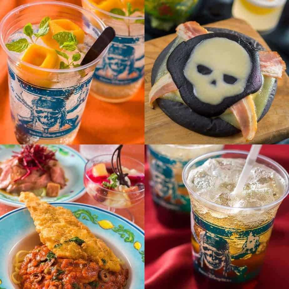 Disney Pirates Summer Food & Snack Menu 2019 at Tokyo DisneySea