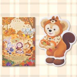 Postcard Duffy Merchandise Tokyo Disney Resort 2019