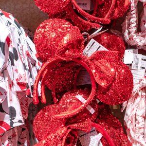 Red Minnie Ears Tokyo Disney Resort