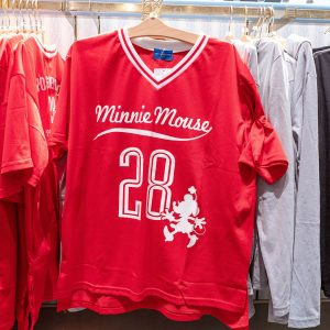 Red Minnie Mouse Jersey Tokyo Disney Resort