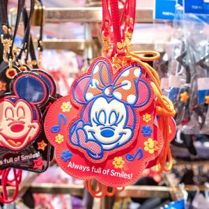 Red Minnie Mouse Passcase Tokyo Disney Resort