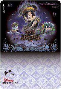 Resort Line Ticket 1 Tokyo Disneyland Halloween 2019