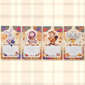 Sticky Notes Duffy Merchandise Tokyo Disney Resort 2019