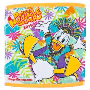 Wash Towel Donald's Hot Jungle Summer