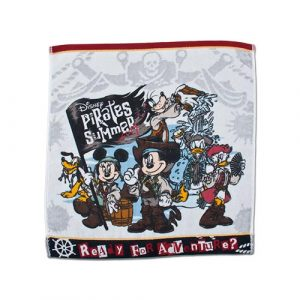 Wash Towel Tokyo DisneySea Pirates Summer Merchandise 2019