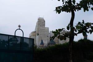 Hong Kong Disneyland Castle Construction Summer-11