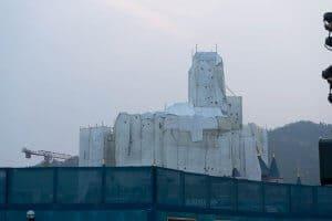 Hong Kong Disneyland Castle Construction Summer-2
