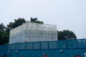 Hong Kong Disneyland Castle Construction Summer-3