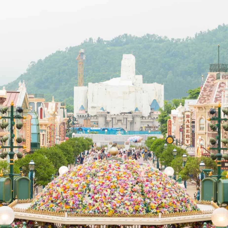 Hong Kong Disneyland Castle Transformation Update (Summer 2019)