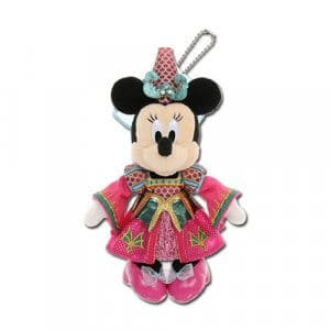 Minnie Plush Badge Tokyo Disney Halloween Souvenirs 2019