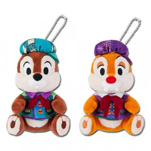 Chip and Dale Plush Badges Disney Halloween Merchandise 2019