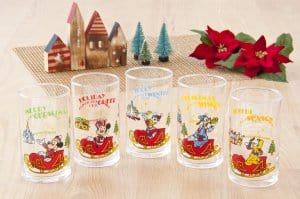 Christmas Glass Set