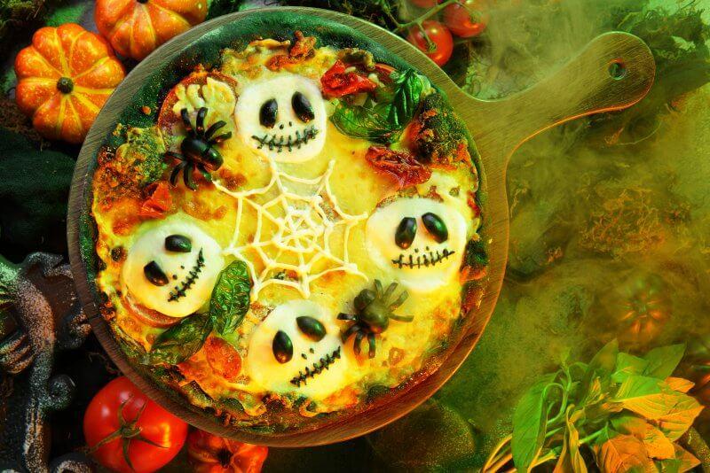 Disney Explorers Lodge World of Color Jack Haunted Pizza