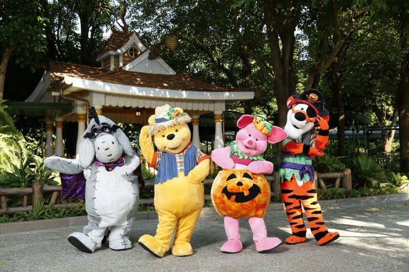 Halloween Time Festival Gardens Winnie The Pooh Hong Kong Disneyland