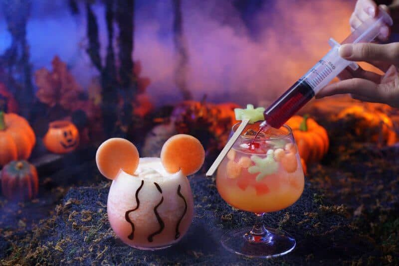 Hong Kong Disneyland Hotels Halloween Beverages