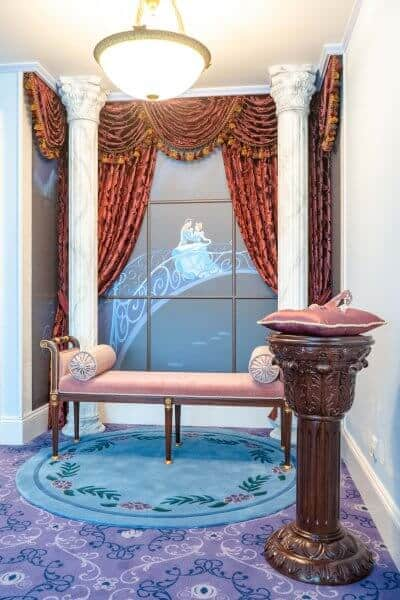Kingdom Club Cinderella Suite Corner