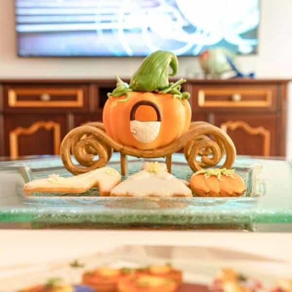 Kingdom Club Pumpkin Carriage Treats