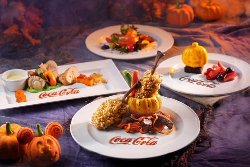 Main Street Corner Cafe Coca-Cola® Halloween Set Menu